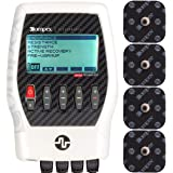 Compex Performance 2.0 Muscle Stimulator with TENS Bundle Kit: Muscle Stim, 12 Snap Electrodes, 6 Programs, Lead Wires…