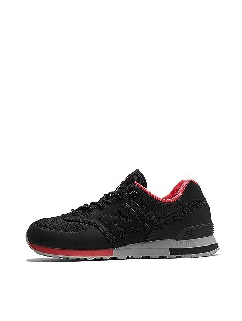 New Balance ML574ENC!!es mÄTMskie Sneakers (Black): Amazon.es: Zapatos y complementos