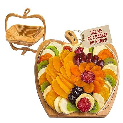 Cesta de regalo de frutas secas – Bandeja se convierte en ...