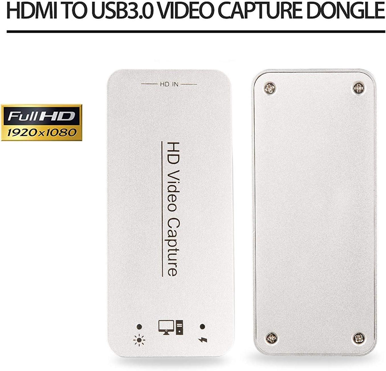 DIGITNOW! Capturadora de vídeo HDMI USB 3.0 y Dispositivo de ...