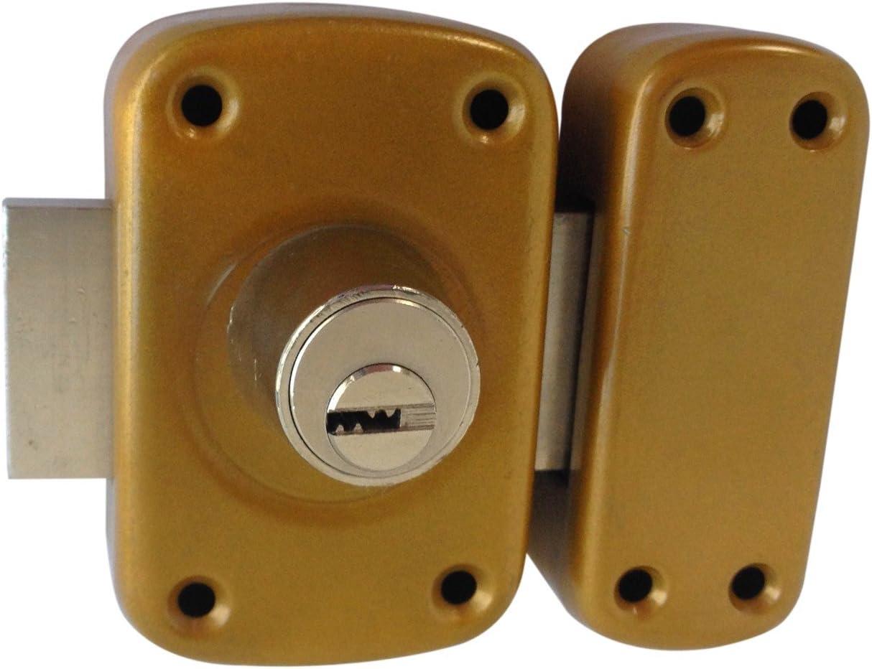 Coffre Embouti - Verrou de Haute S/ûret/é Double Entr/ée VE228145 A Souder 4 cl/és r/éversibles SVS 4 cl/és r/éversibles