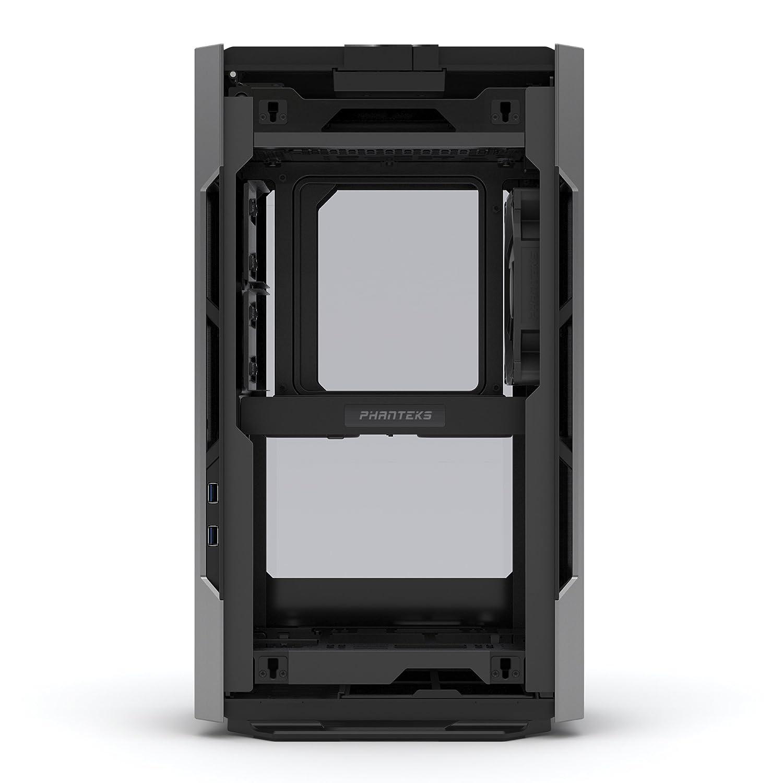 , PC, Aluminio, Vidrio Templado, Mini-ITX, Gris, 8,2 cm SFF Caja de Ordenador Small Form Factor Gris Carcasa de Ordenador Phanteks Enthoo Evolv Shift Small Form Factor SFF