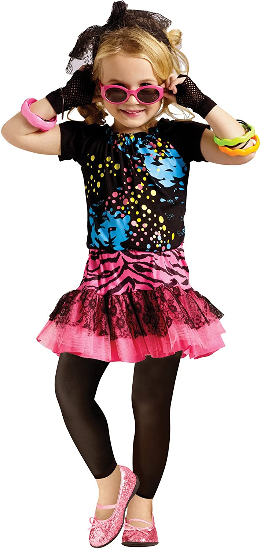 Disco Star Costume Halloween Fancy Dress