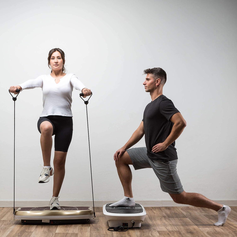 Fett abbauen neues Modell 2021 stimulieren und die Muskelelastizit/ät wiederherstellen GLOBAL RELAX Zen Shaper/® Fitness-Plattform Bluetooth-Lautsprecher und Musik - /Ästhetischer K/örpertrainer
