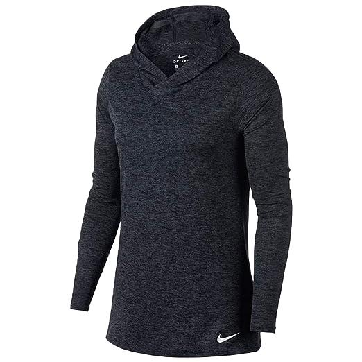 8c85b5ba02ec Amazon.com  Nike Dry Legend Hooded Training Top Womens  Clothing
