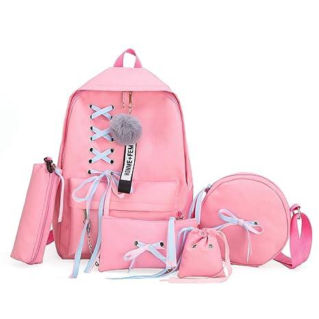 Amazon Com 2019 Girl School Bag Teenage Backpack College Wind