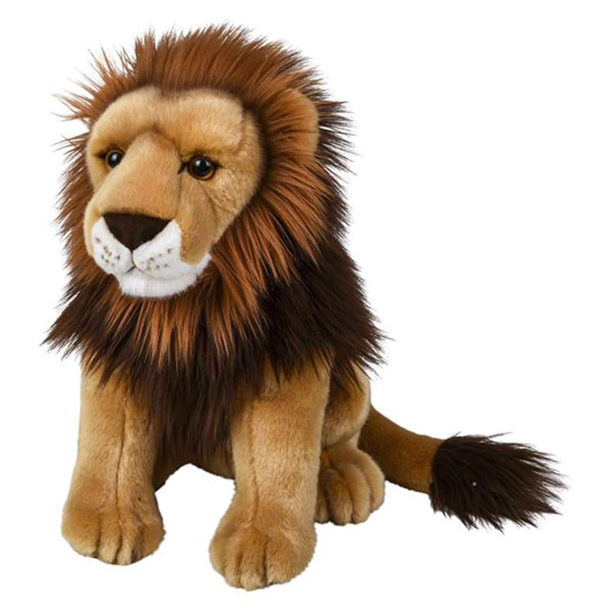 Wildlife Tree 15 Inch Stuffed Lion Plush Floppy Animal Kingdom Collection by Wildlife Tree