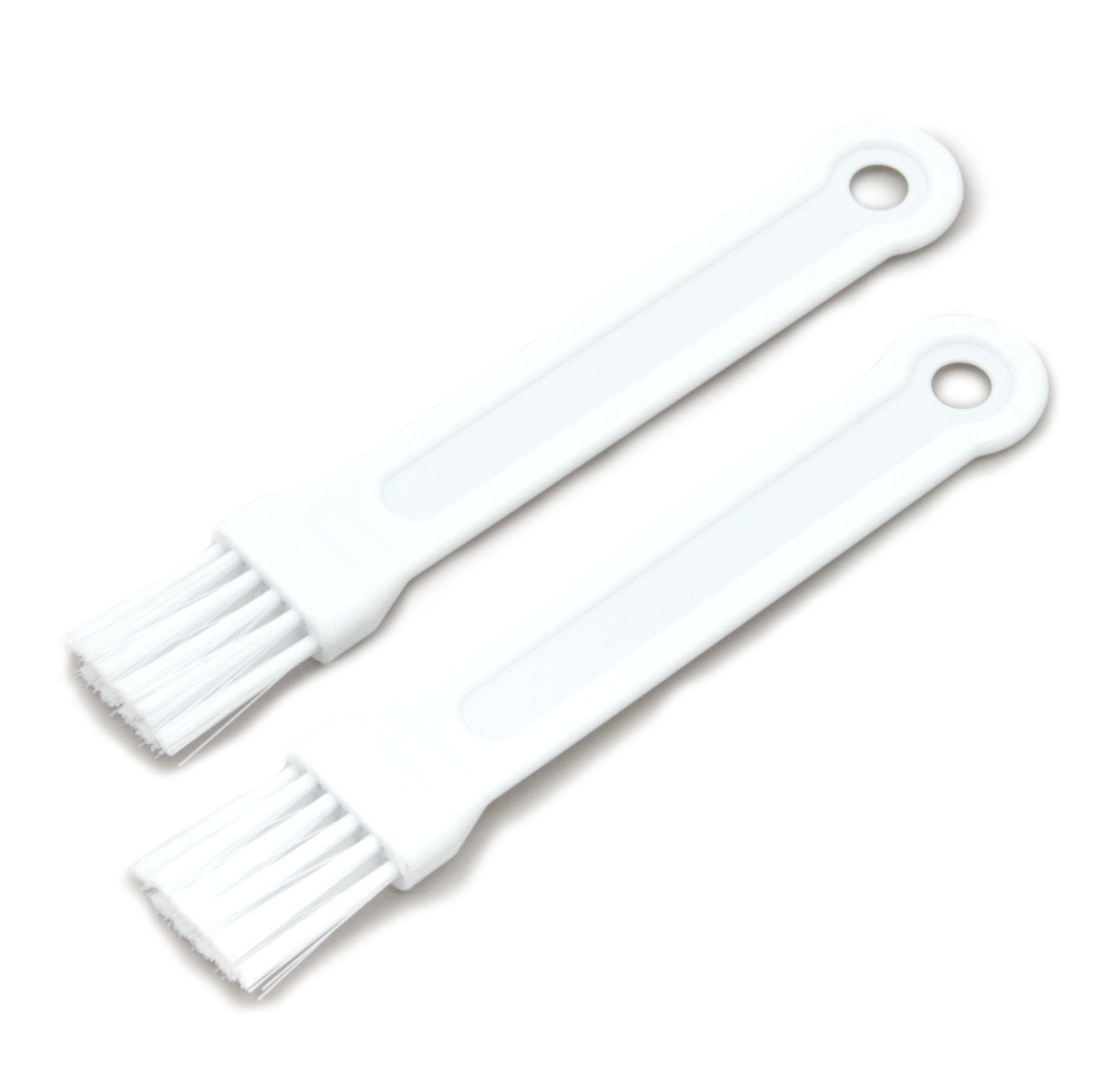 Chef Craft Mini Pastry Brush, White, 2-Pack 1 6.75 Inch in length Easy to clean Bastes in a similar fashion to traditional boar bristle brushes