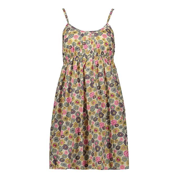 3cef473ce0379 Eric Hug Fashion Summer Dress 100% Cotton Floral Sexy Sleeveless Casual  Beach Dress Sundress Dresses Vestidos Clothing at Amazon Women's Clothing  store: