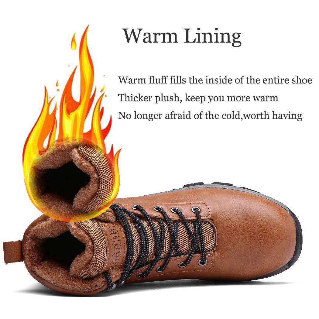 Pyjacos Hombre Botas de Nieve Trekking Zapatos Invierno