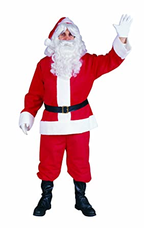 Plus Size Christmas Costumes.Rg Costumes Men S Plus Size Santa Suit