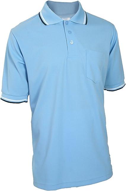 Smitty GHSA Logo Navy Blue Umpire Shirt Baseball /& Softball size Large