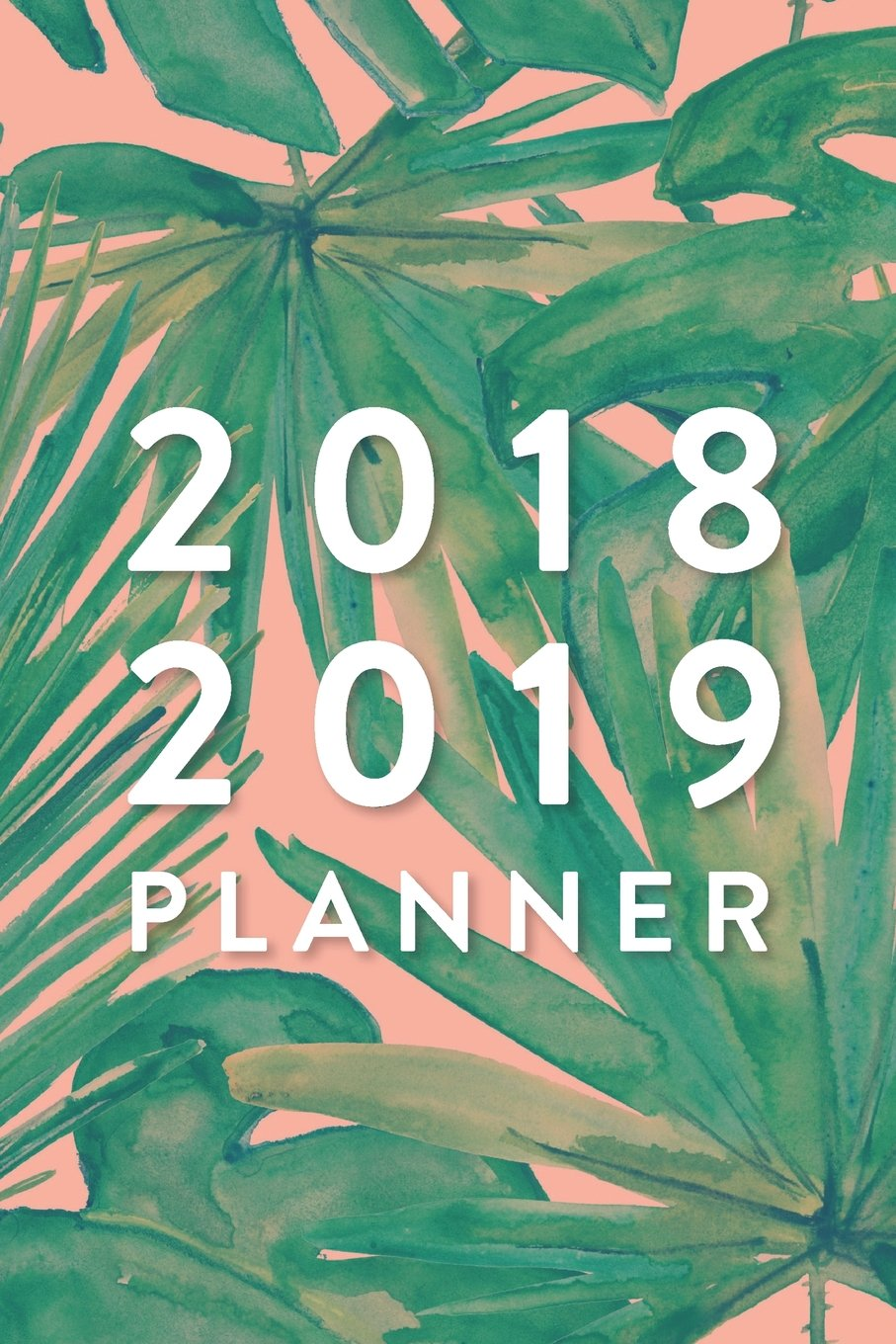size 40 8fca1 f63e2 2018 2019 Planner, 18 Month Weekly & Monthly Planner | 2018 ...