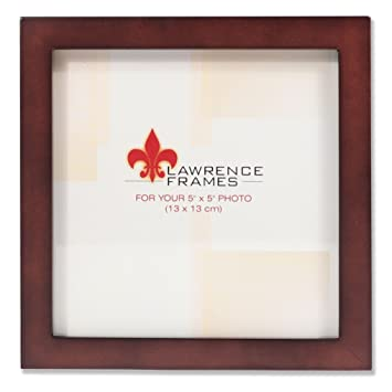 Amazon.com - Lawrence Frames 755955 Espresso Wood Picture Frame, 5 ...