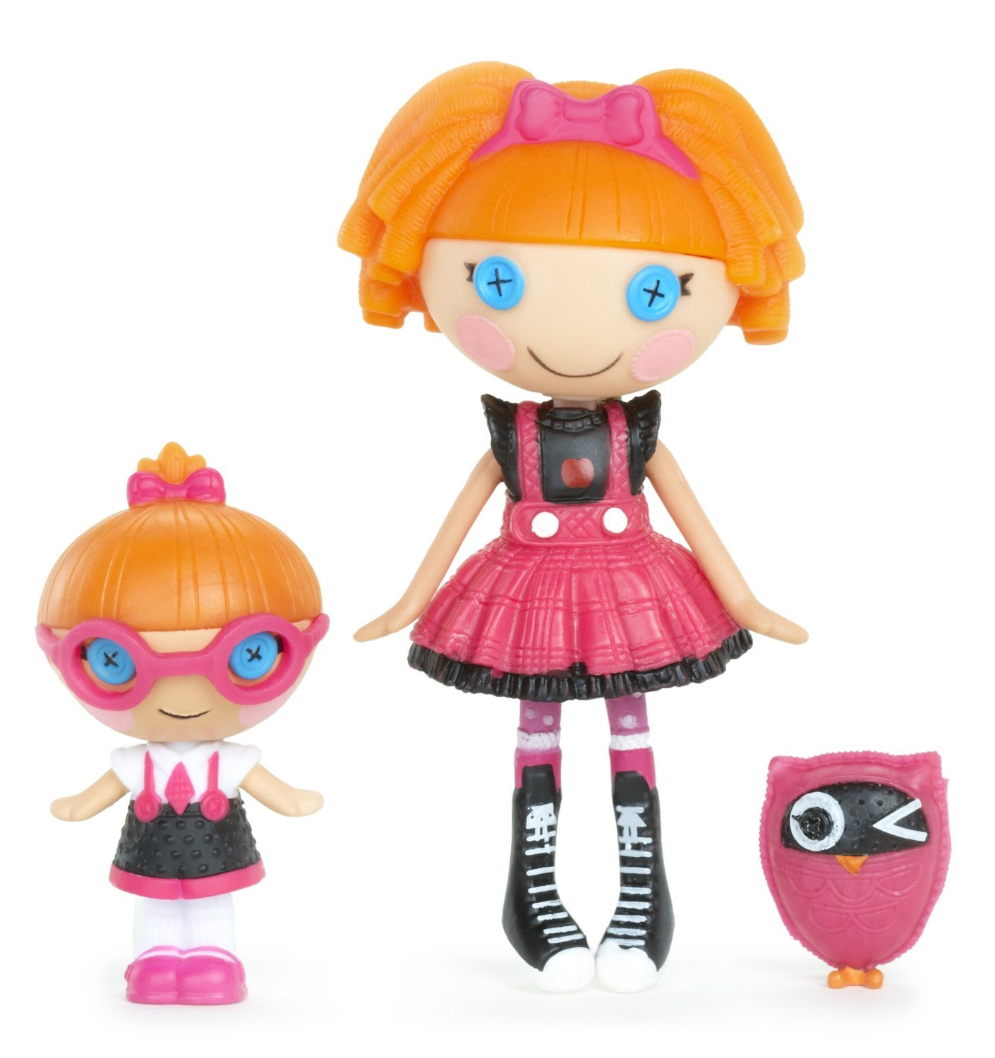 輸入ララループシー人形ドール Doll, Lalaloopsy Mini Littles Lalaloopsy Doll, Bea Spells-A-Lot/Specs Reads-A-Lot Mini [並行輸入品] B01GFJTU8W, おくすり本舗:b6776dde --- arvoreazul.com.br