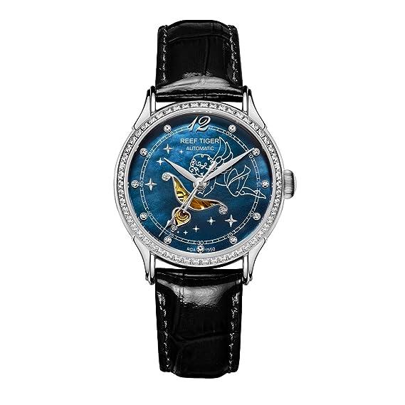 Reef tigre moda relojes para los amantes de la mujer relojes lujo Automático Relojes rga1550