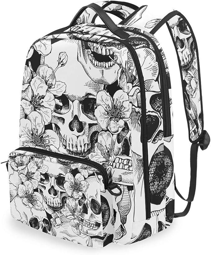 Acheter sac à dos école enfant tete de mort online 9