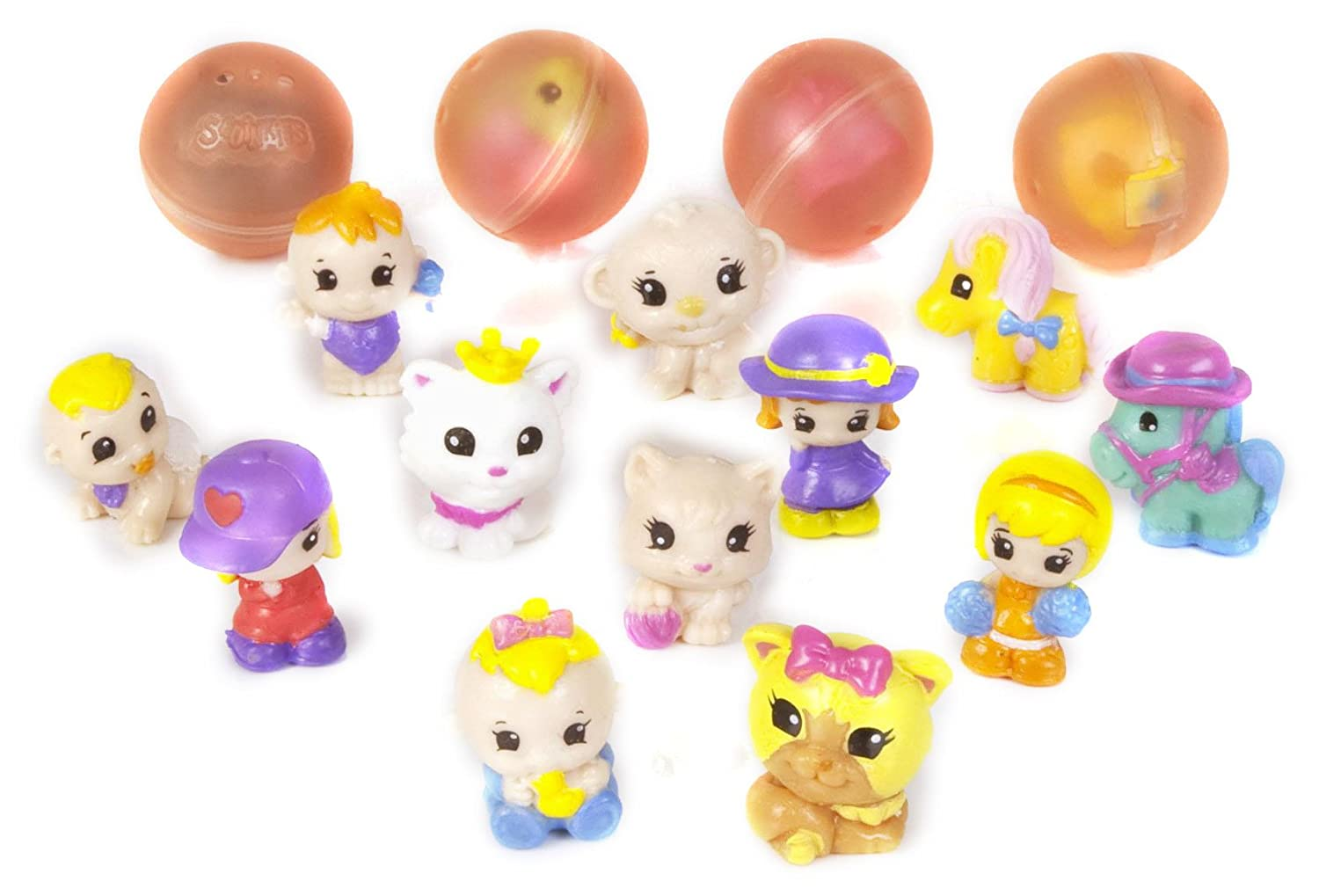 Disney-Princess-Squinkies-Set-Cinderella-Bubble-Pack-Boys-Barbie-Fuzzies thumbnail 22