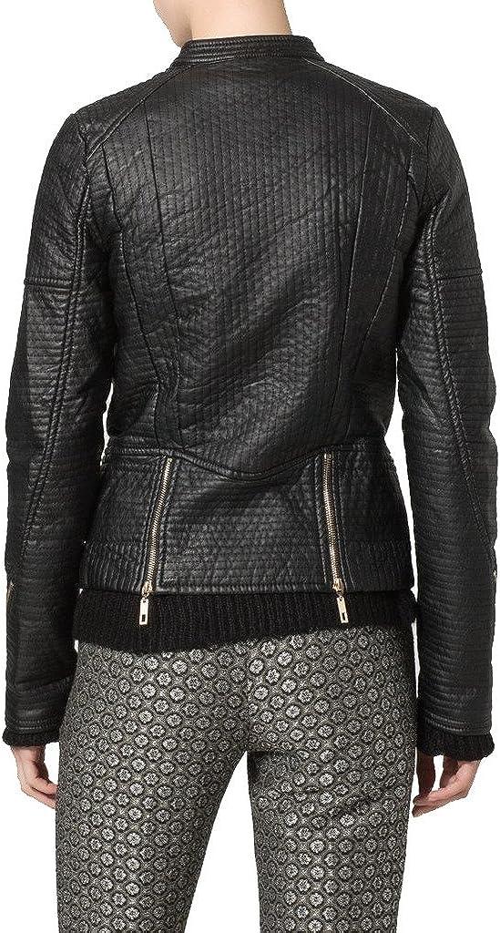 New Womens Motorcycle Genuine Leather Jacket Custom Made LTW112
