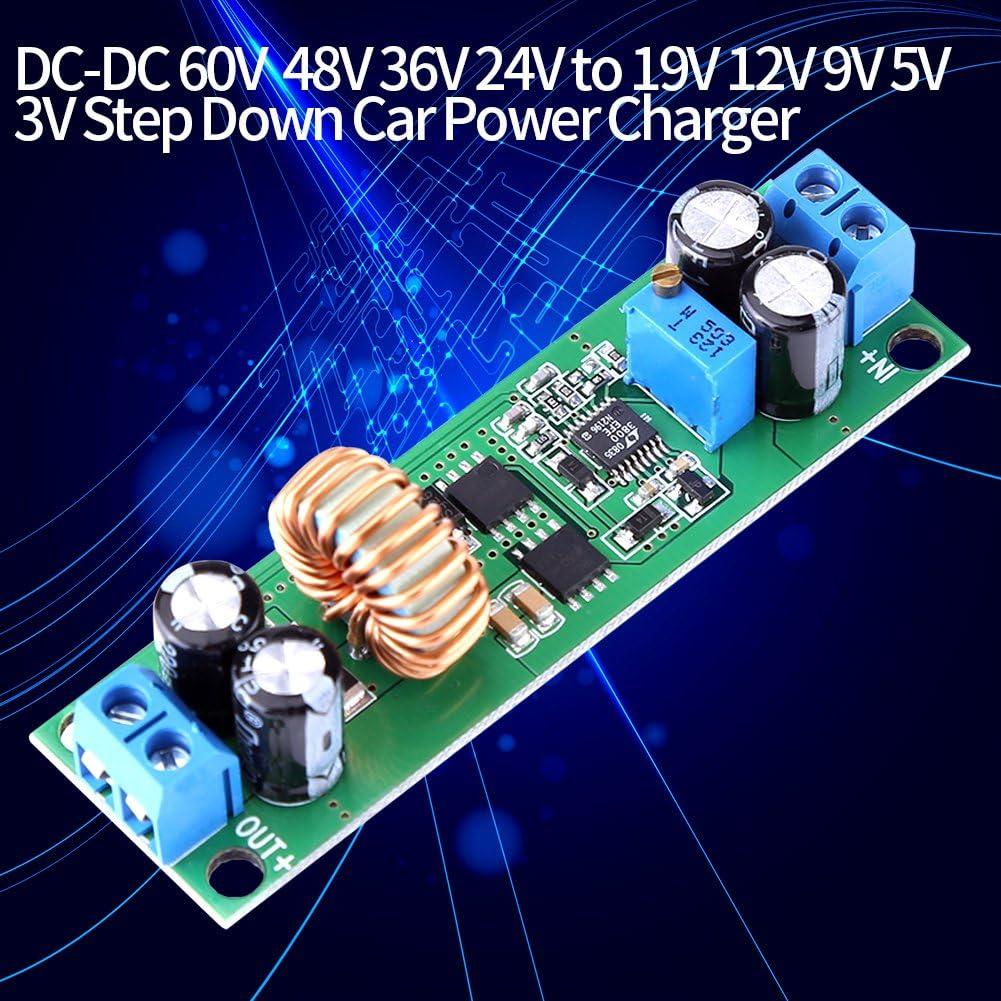 DC-DC Converter 10A Buck Power Supply Module 6.5V-60V Step Down to 1.25-30V