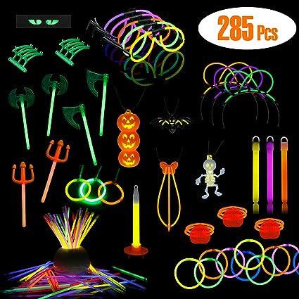 Lumistick Glow Sticks Variety Pack Includes Necklaces Glasses 200pc Bracelets