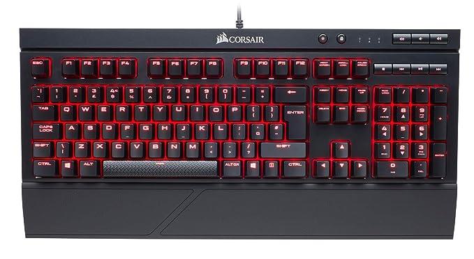 150 opinioni per Corsair K68 LED Rosso Tastiera Meccanica Gaming Cherry MX Red, Lineare e Veloce,