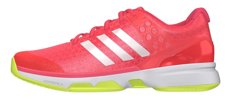 Adidas Adizero Ubersonic 2 W, Chaussures 1/3 de Tennis Femme 43 1/3 Chaussures EU|Rouge feb2c8
