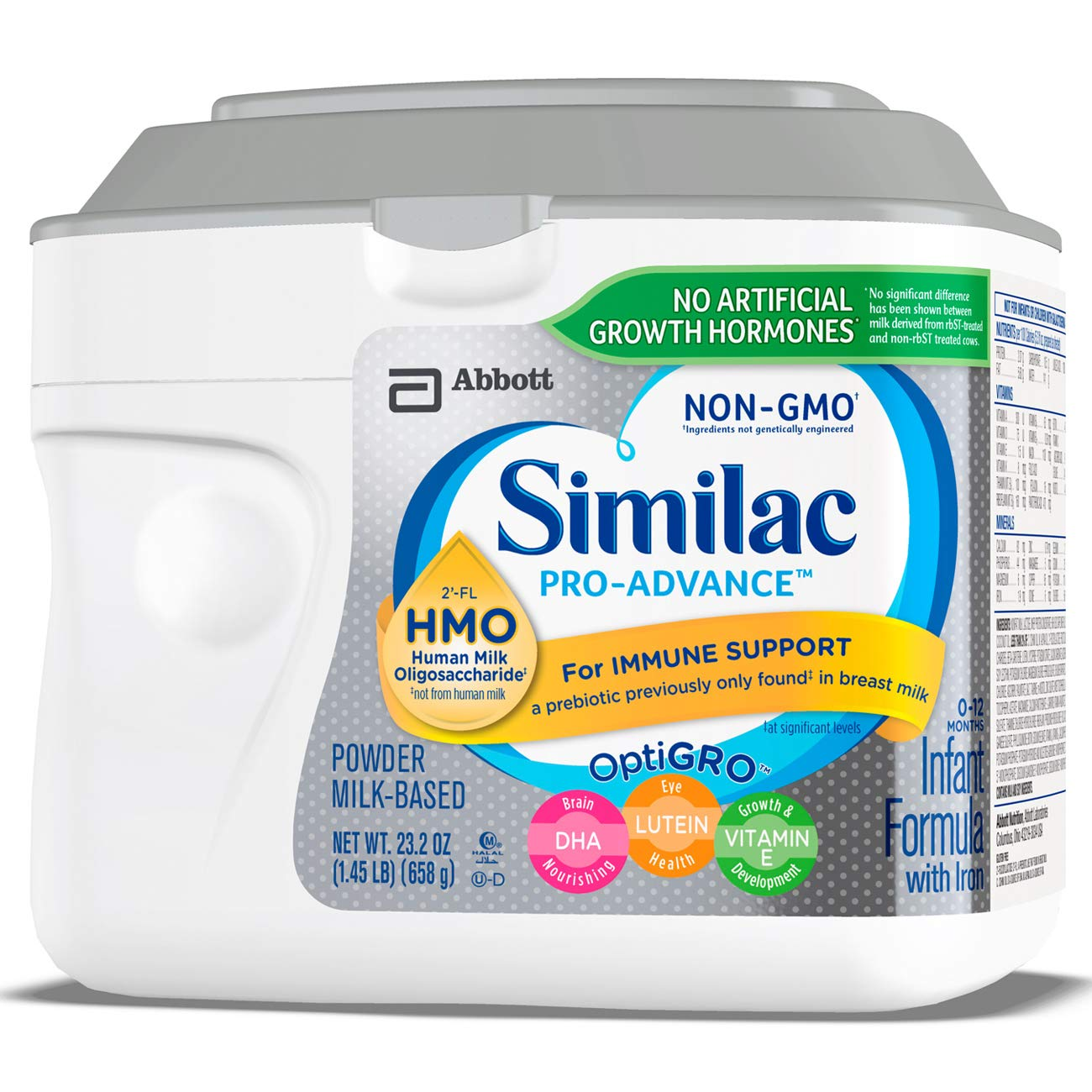 Similac Pro Advance Non Gmo Infant Formula With Iron With
