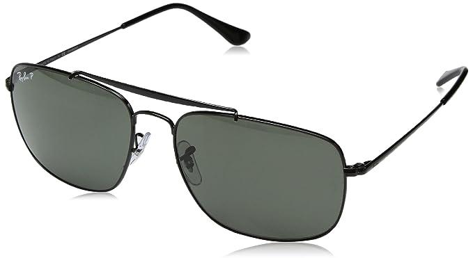 RAY-BAN 0rb3560 002/58 61 Gafas de sol, Black, 60 para Hombre