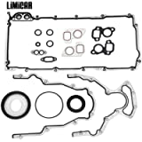 LIMICAR Engine Conversion Lower Gasket Set CS5975A CS9284 Compatible with 1997-2011 GMC Fits Ford Isuzu Saab 5.7L 6.0L 6…