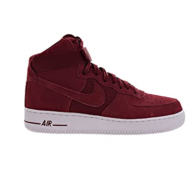 Nike Men's Air Force 1 High 07, University Red/Team Red White, 10 M