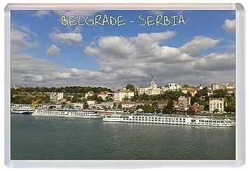 Kühlschrank Querformat : Belgrad u2013 serbien u2013 jumbo kühlschrank magnet u2013 brandneues geschenk