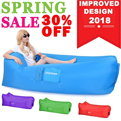 Great Home Inflatable Lounger