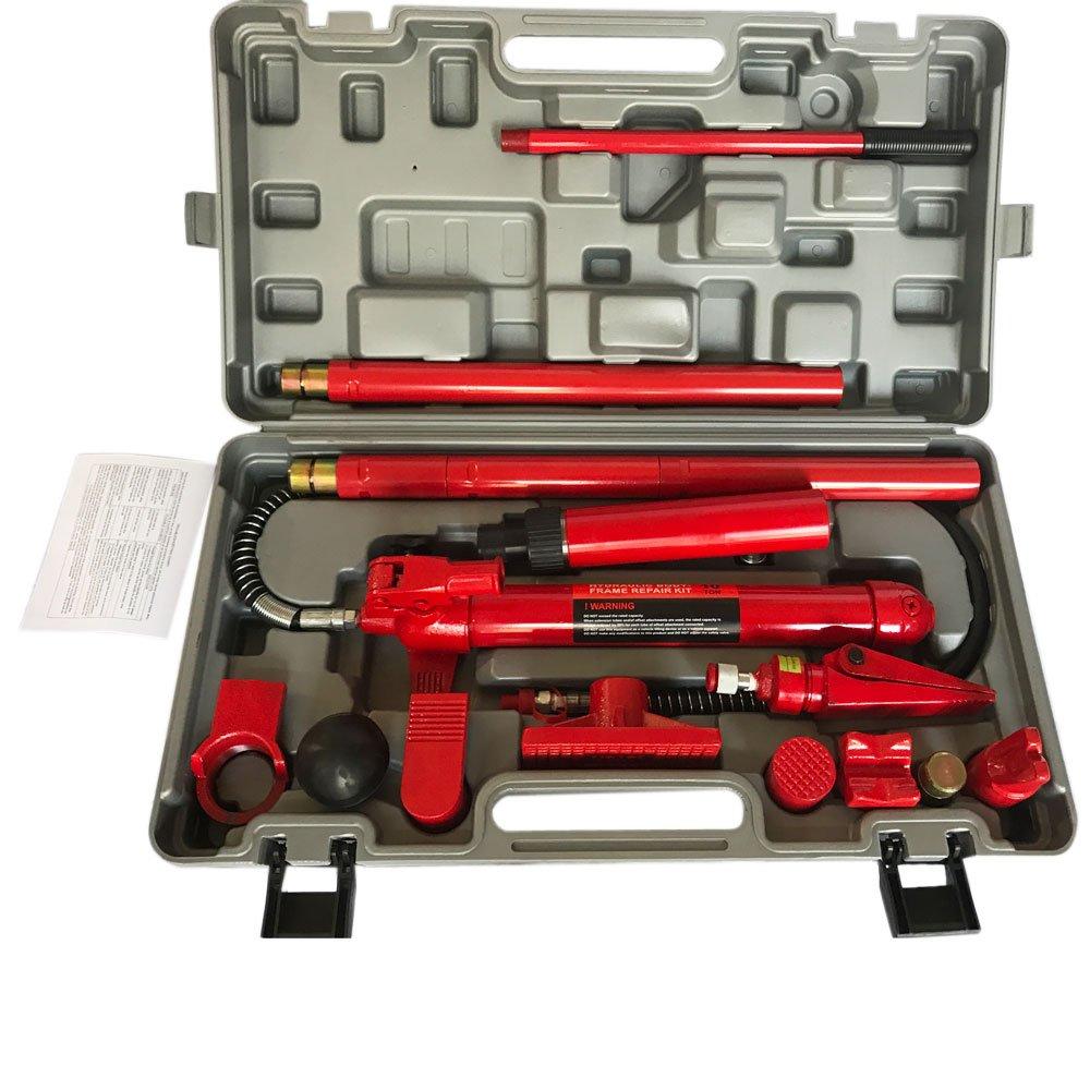 Teekland 10 Ton Porta Power Hydraulic Jack Body Frame Repair Kit Lift Ram
