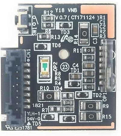 Power Button E251781 - Botón de Encendido para televisor Samsung UN55NU6900B: GENERIC: Amazon.es: Electrónica