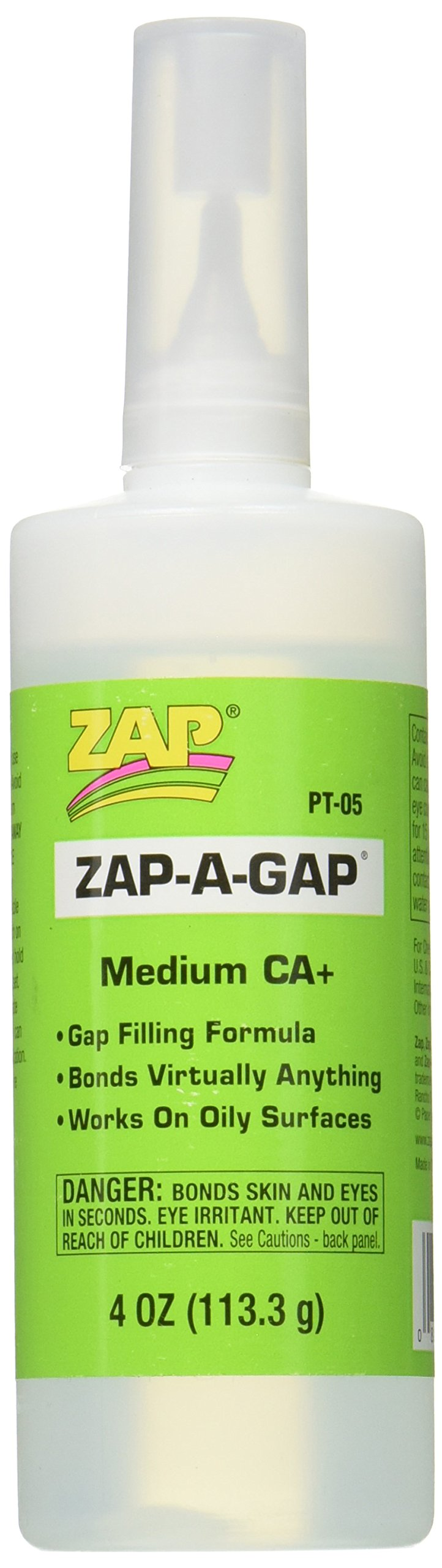 Pacer Technology (Zap) Zap-A-Gap Adhesives, 4 oz