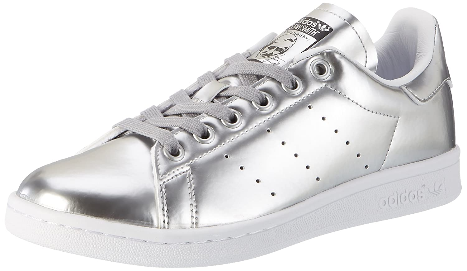 Adidas Originals Damen Stan Smith Turnschuhe Metall