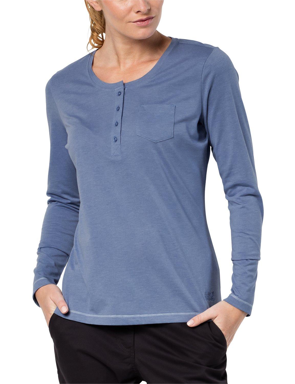 """Jack Wolfskin bdquo; Essential"""", langärmeliges T-Shirt für Damen Jack Wolfskin -- Domestic"""