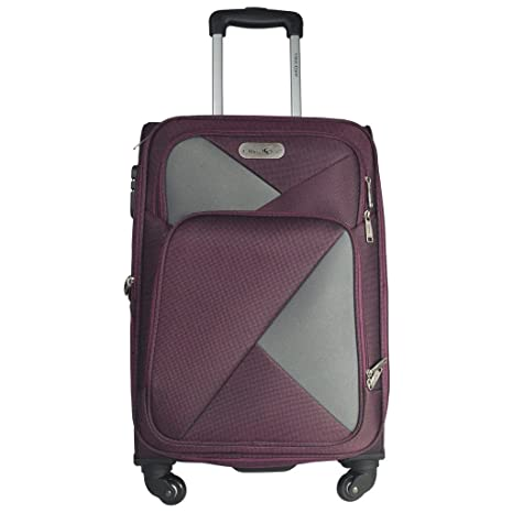 Takeoff Soft top Trolly Luggage with 4 Wheels 24 Inch