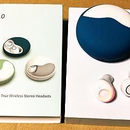 Amazon Co Jp Okcsc K10 ワイヤレスイヤホン Bluetooth 5 0 カナル型 Siri対応 Ipx5防水規格 小型 マイクつき 空色 家電 カメラ