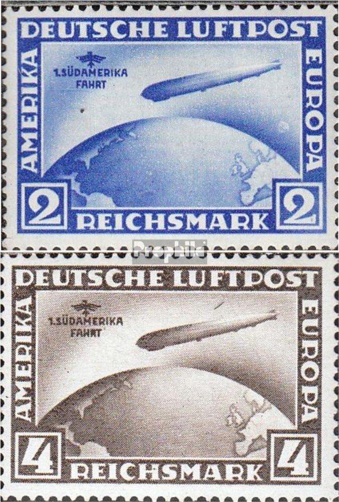 Prophila Collection 438Y-439Y Deutsches Reich 438Y-439Y Collection (kompl.Ausg.) 1930 Graf Zeppelin (Briefmarken für Sammler) Luftfahrt a1d78d