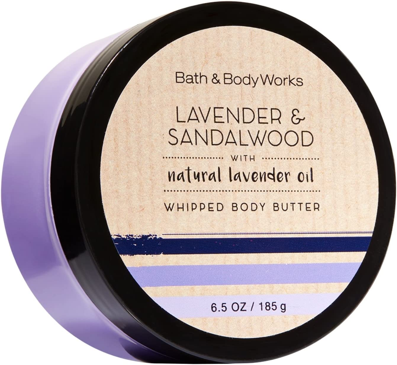 Bath & Body Works 6.5 Ounce Whipped Body Butter Lavender & Sandalwood