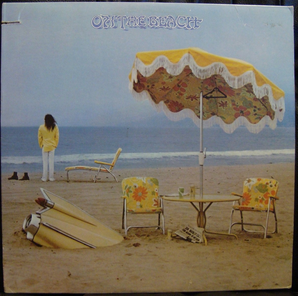 On the beach (1974) / Vinyl record [Vinyl-LP]