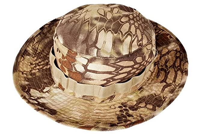 eafb0151d48 Bucket Hat Military Tactical Cap Swat Outdoor Camping Camouflage Cap Boonie  Hat Men Women Sport Paintball