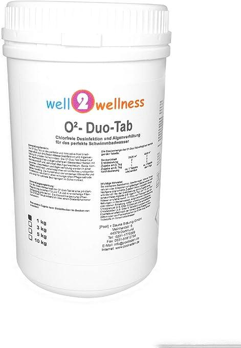 Well2wellness Oxígeno Activo Tabletas 2 en 1 / o ² Pastillas Dúo ...