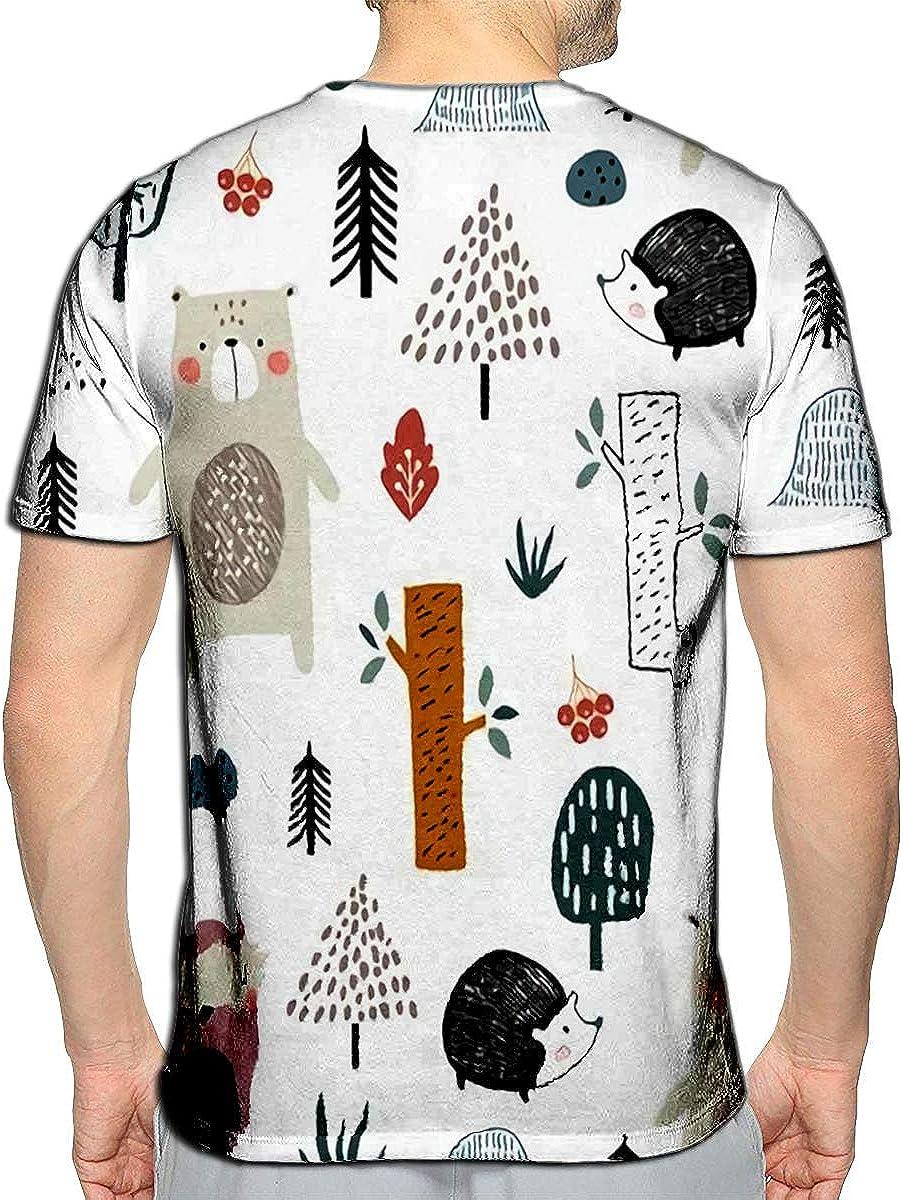 T-Shirt 3D Printed Man Not Poor Element Casual Tees