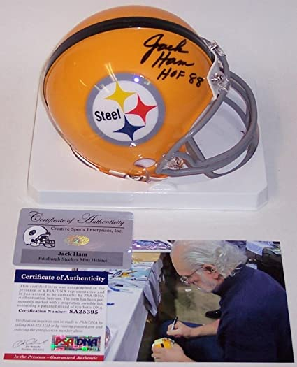 0f32a1b7e Image Unavailable. Image not available for. Color  Autographed Jack Ham ...