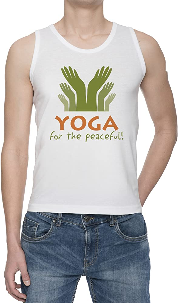 Yoga For The Peaceful! De Tirantes Camiseta Para Hombre ...