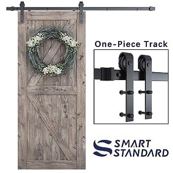SMARTSTANDARD 6.6 FT Barn Door Hardware Kit