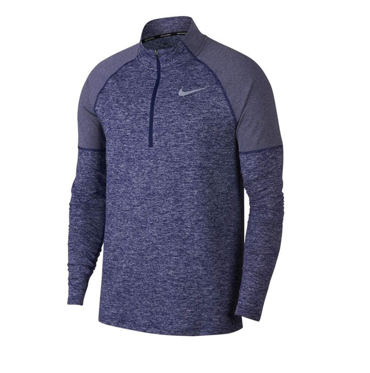 Nike Men's Element Half Zip Top (Small, Obsidian) by Nike (Image #1)